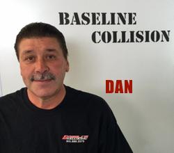 Photo of Baseline Collision team member Dan