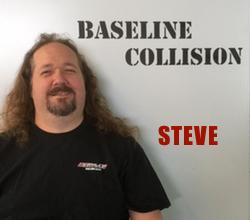 Photo of Baseline Collision team member Steve
